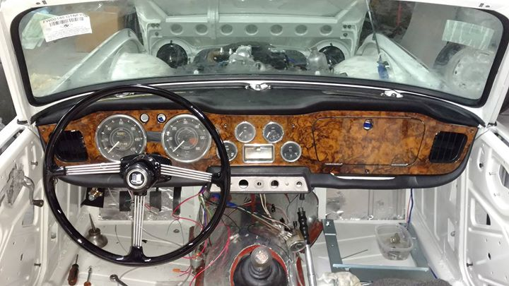 Another TR4 to be restored